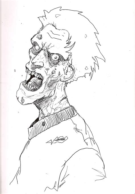 printable coloring pages zombies 9 free zombie printable coloring pages