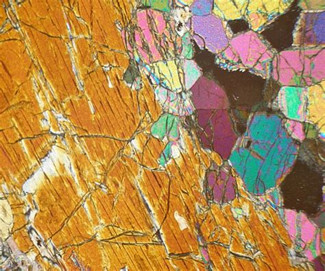 dunite thin section dunite n carolina usa thin section microscope slide