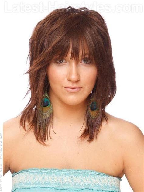 hair cuts for 6 yr boyd medium multi layers with bangs hairdos pinterest