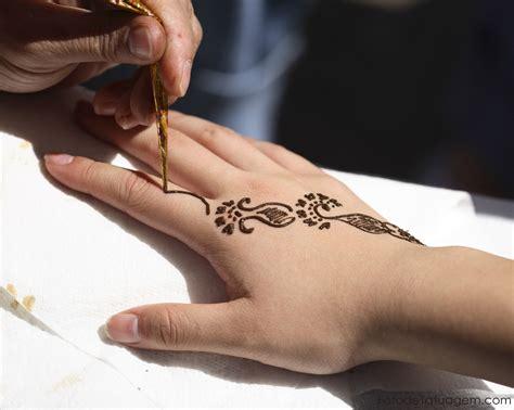 tatuagem de henna foto de tatuagem