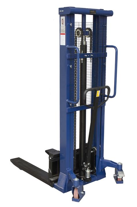 Liftrer Stacker Manual 1000 1000kg manual stacker truck 3000mm lift height stack