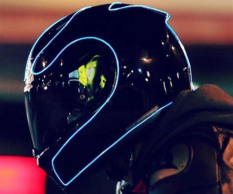 Neon Blue Helmet Multipurpose Light 1meter With
