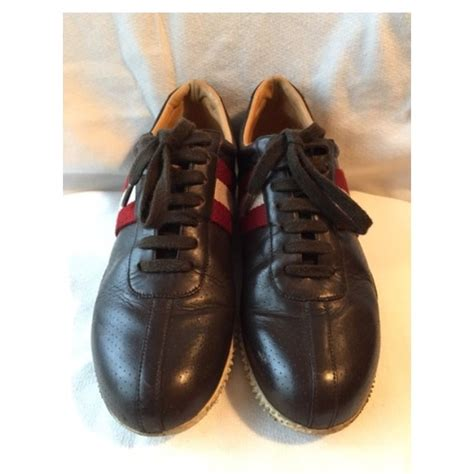 80 bally shoes bally golf style brown leather shoes