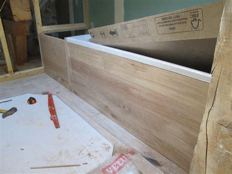 fabriquer une baignoire semaine 40 une salle de bain en bois la grange loft d