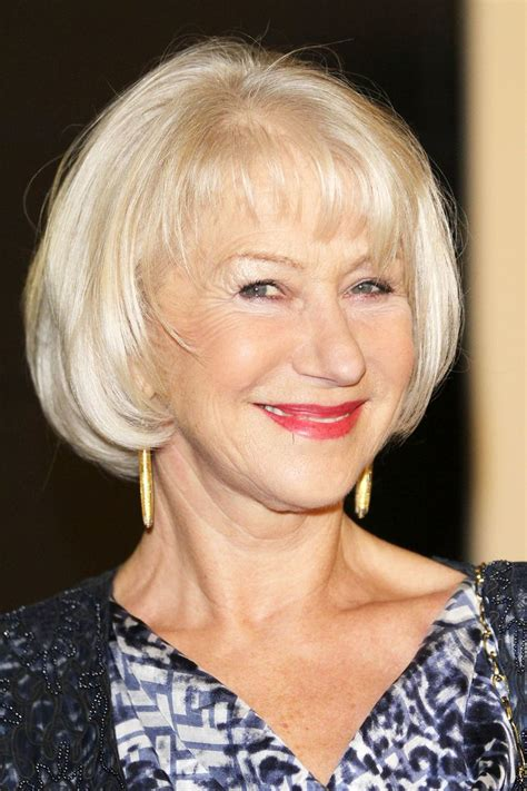 over 50 s hair condition the 21 best hairstyles for women over 50 helen mirren