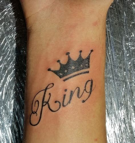 word tattoo 15 stylish and best king tattoos design ideas with pictures