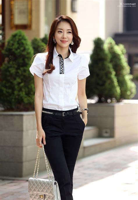 Kemeja Wanita Kotak Putih Hitam New Restok baju lengan pendek modis aktual post newhairstylesformen2014