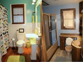 Before And After Small Bathrooms Bathroom Small Bathroom Makeover Before And After With