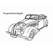 Ausmalbilder Auto Bugatti – Webpage