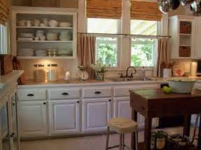 Galley Kitchen Ideas Makeovers types de cuisine cuisine rustique repeinte en blanc