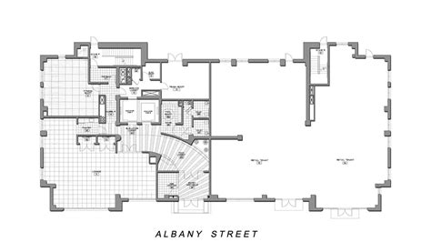 ground floor plan plans 187 student residence 187 bumc