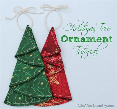patterns for fabric christmas tree decorations 22 farbic christmas ornament tutorials