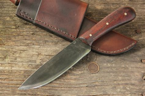 Handmade Mountain Knives - lucas forge
