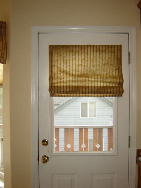 Door Shades For Doors With Windows magnetic shade for metal door living room