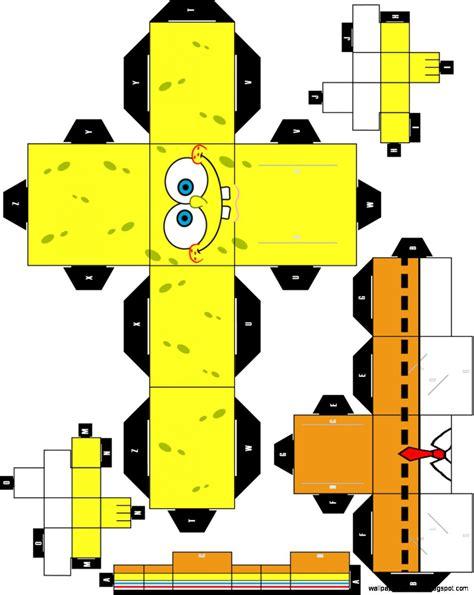 Cube Papercraft Spongebob Squarepant Papercraft by Spongebob Squarepants Cubeecraft Hd Wallpaper Gallery