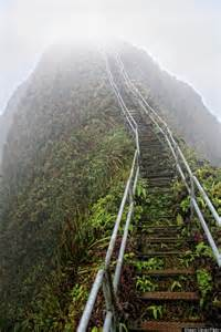 Stairs Hawaii by In Order To Get To Heaven You Ll Have To Take The Stairs