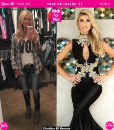 Christina El Moussa by Christina El Moussa S Dress At Open House Is The Speakeasy