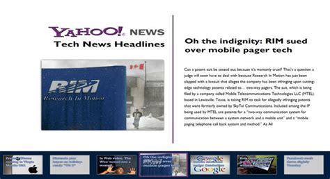 yahoo technews digital signage content ucview