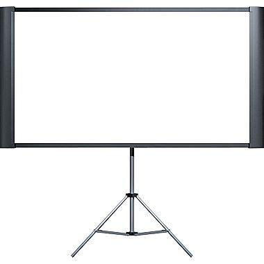 Layar Proyektor Tripod 60 Projector Tripod Screen projector screen 3x6 front deejay s event rentals