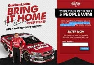 Quicken Loan Sweepstakes - qlracing com quicken loans mortgage bring it home sweepstakes