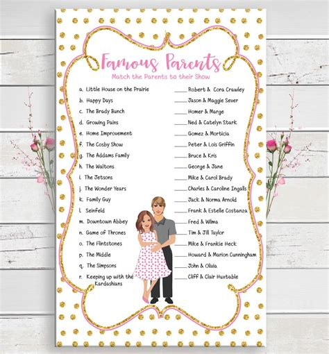 Baby Shower For Lots Of Guests by Parents Baby Shower With Lots Of Printable