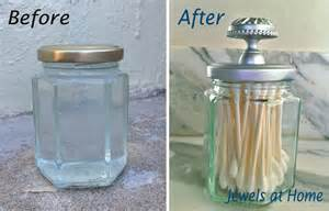 silver spray paints diy apothecary jar and painted