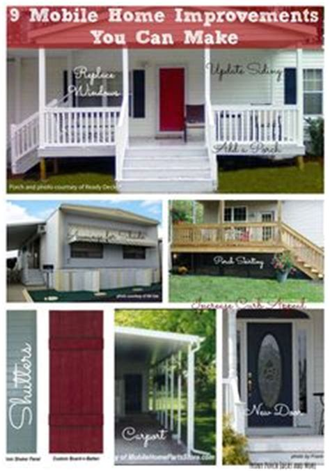 1000 ideas about manufactured home porch on