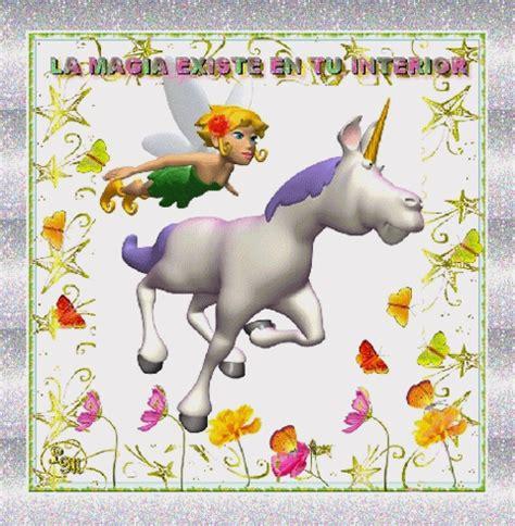 imagenes uñas unicornio una imagen bella de fantas 205 a hada y unicornio gif