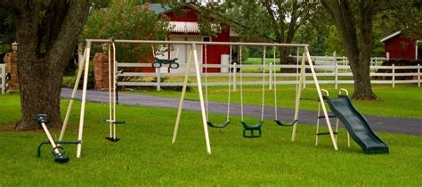 flexible flyer fantastic playground metal swing set flexible flyer world of fun swing set the best choice