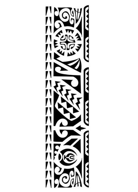 samoan tribal band tattoos 1453 best maori polynesian images on