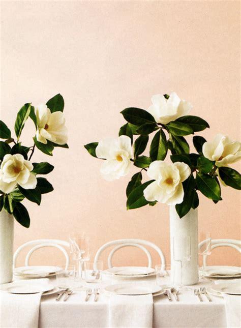 Magnolia Wedding Decorations by A Magnolia Wedding Theme Arabia Weddings