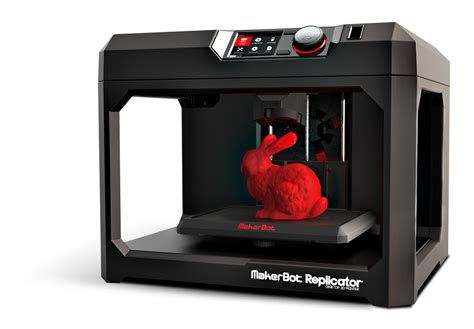 Printer 3d Makerbot the fifth generation of awesome the makerbot replicator
