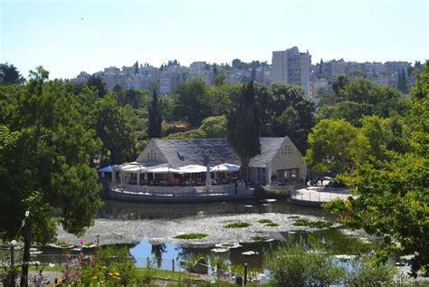 Cafeteria Jerusalem S Botanical Garden נחום מלצר יצחק Jerusalem Botanical Gardens