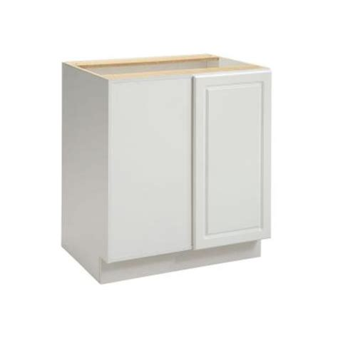 Blind Corner Base Cabinet by Heartland Cabinetry Ready To Assemble 30x34 5x24 3 In