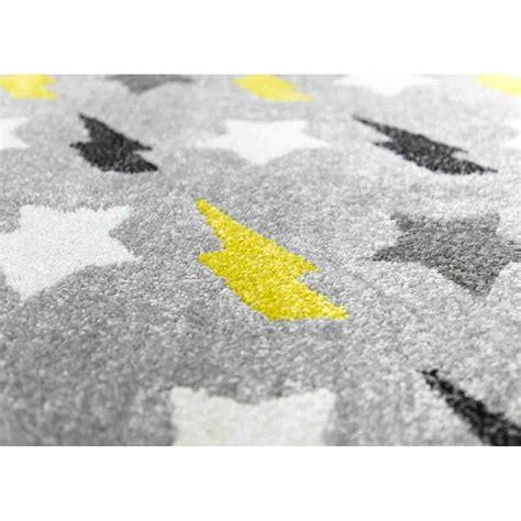 tapis jaune et gris 3583 tapis d 233 coratif et doux pour b 233 b 233 et enfant sign 233 s nattiot
