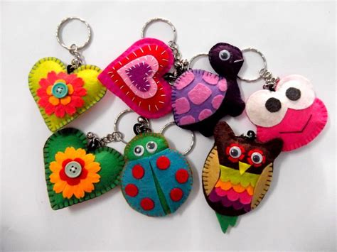 keychain crafts for 109 best images about felt keychains on felt