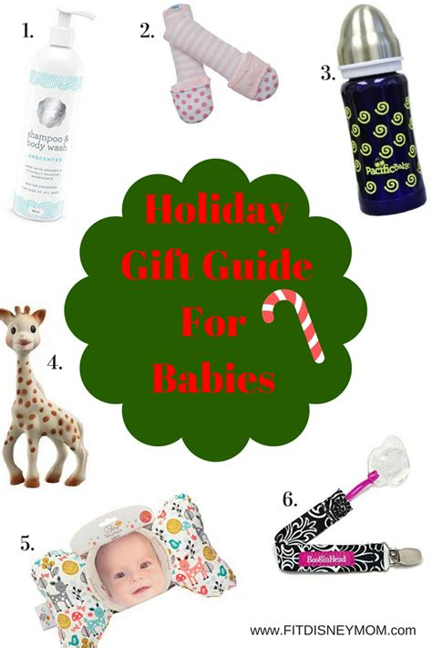 2016 holiday gift guide for babies fit disney mom