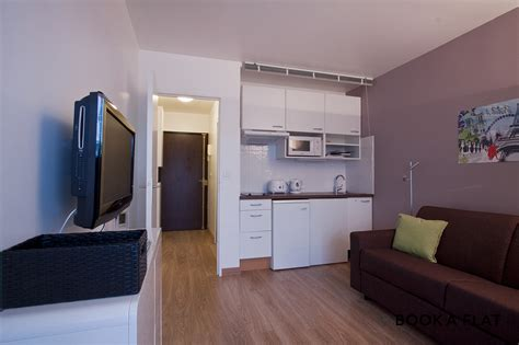 Cuisine Ouverte Sur Salon 30m2 3000 by Appartement Meubl 233 10 232 Me Arrondissement De 75010