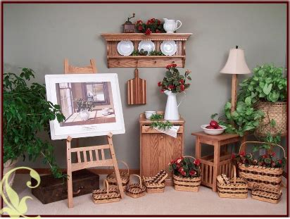 amish home decor amish furniture crafts