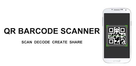 qr code scan barcode scanner apps  google play