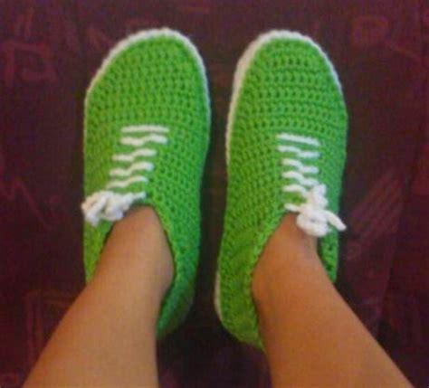 free crochet pattern for vans slippers shush s handmade stuff crochet sneakers pdf pattern