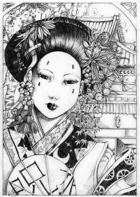 geisha tattoo vrouw pin by zjenni vd heijden on verzamel pinterest