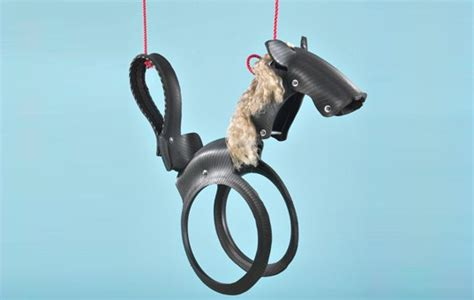 horse shaped tire swing creature shaped recycled tire swings from wildlife