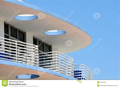 art deco balcony art deco balcony on a bright sunny day royalty free stock