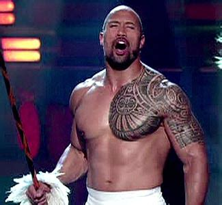 the rock chest tattoo how much would a like the rock s shoulder