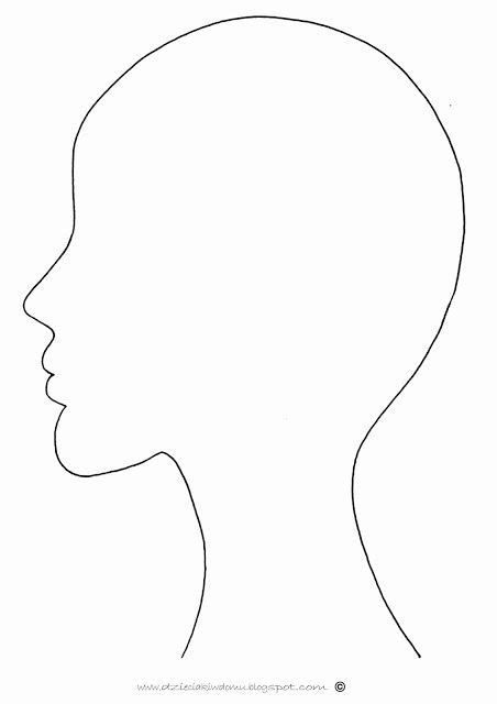 headshot template outline template www imgkid the image kid has it