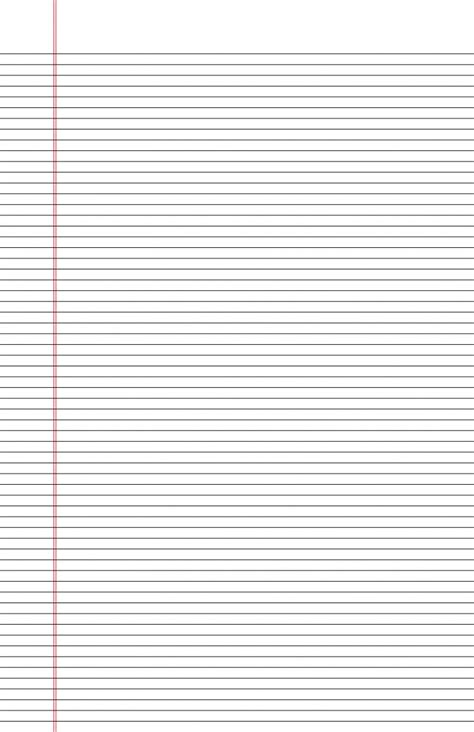 free printable narrow lined paper lined narrow lined paper