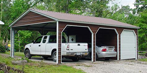 garagen carport kombination 895 carports garages sheds metal buildings absolute