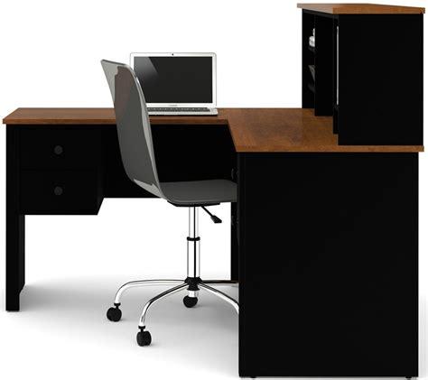 l shaped desk with hutch black www imgkid somerville l shaped desk with hutch and drawers black