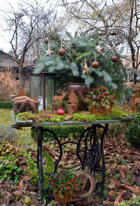 Gartendeko Winter Basteln by Quaste Aus Kiefernadeln Nat 252 Rliche Gartendeko Im Winter